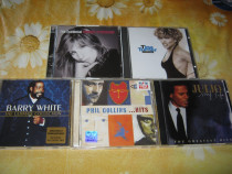 Cd muzica,tina turner,phil collins,barbra streisand,iglesias