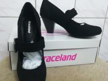 Pantofi negri dama cu toc 7 cm marimea 36 Deichmann - Noi