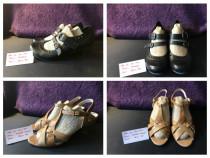 Sandale piele mar.36 Tamaris si Patrizia Rigotti