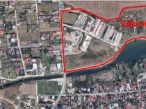 Teren intravilan 5 ha Tunari -ilfov pe malul lacului Pasarea