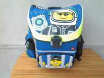 Ghiozdan scoala 7 -10 ani Easy LEGO - design City Police