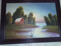 Pictura in ulei-peisaj