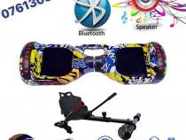Hoverboard 1000WGraffiti,garantie,telecomanda,lumini led