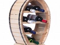 Suport Sticle Vin Dyonisos, Capacitate 8 sticle vin, Livrare
