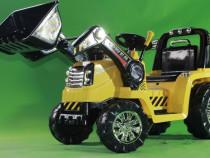 Excavator Electric pentru copii ZP1005 echipat cu Telecomand