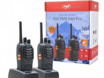 Statie Radio UHF Portabila PNI PMR 40 PRO set 2 buc