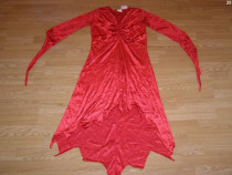 Costum carnaval serbare dracusor diavolita 10-11-12 ani