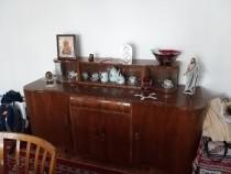 Mobila de sufragerie, furnir de nuc