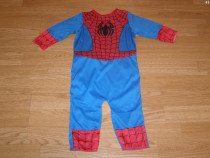 Costum carnaval serbare spiderman 9-12 luni 1 an ani