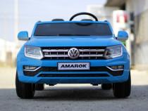 Masinuta electrica VW Amarok 12V PickUP cu 2 Locuri #BLUE