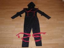 Costum carnaval serbare ninja pentru copii de 8-9 ani