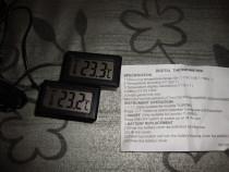 Termometru digital cu senzor temperatura pe fir beterii incl
