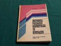Metodica predării geometriei în gimnaziu/ olimpia popescu/ 1