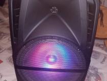 Boxa trolar karaoke bluetooth stik la preț afișat nou