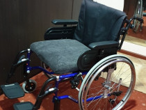 Carut scaun rulant XXL dizabilitati batrani handicap