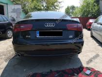 Difuzor fusta Sline ABT bara spate Audi A6 4G C7 11-14 v1