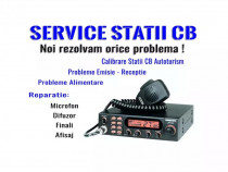Service/reparație, calibrare stație emisie receptie cb tir
