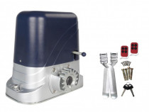 Kit Automatizare Poarta Culisanta cu Telecomanda 800kg