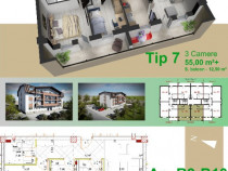 Apartamente 3 camere, Bucium str. Grigore T. Popa-Proprietar