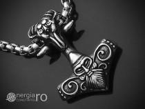 Pandant Pandantiv Ciocanul lui Thor Mjolnir INOX -cod PND152