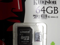 Card De Memorie MicroSD 64Gb Kingston (Class 10)
