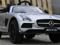 Masinuta electrica mercedes sls echipata standard #silver