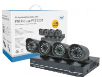 Kit supraveghere video AHD PNI House PTZ1200 Full HD NVR