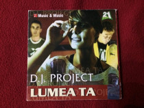 CD dance-pop Dj Project - Lumea ta (2003) , ca si NOU , RAR