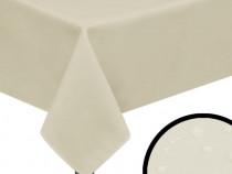 Fețe de masă, 5 buc, 100 x 100 cm, crem 131446