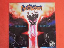 Vinil Destruction-Infernal Overkill-1st album-1st Ed-Germany