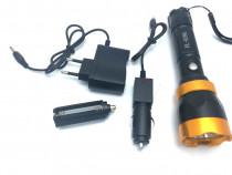 Lanterna Metalica PL-939A Reincarcabila cu Acumulator C261