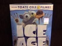 Boxset dvd ice age (epoca de gheata) (5 filme) , nou