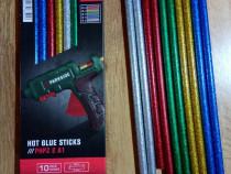 Batoane de silicon cu sclipici 11 mm x 28 cm, nou !