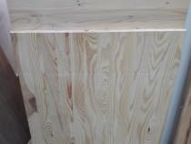 Blat 1600 x 600 x 30 mm din lemn masiv de pin