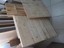 Blat 2000 x 600 x 30 mm din lemn masiv de pin