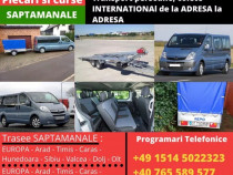 Transport persoane international Romania - Germania