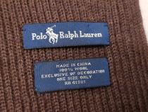 Fular, șal original Polo Ralph Lauren, lână 100 %
