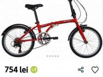 Bicicletă pliabila ,Velors ,Nouă ,echipare Shimano , Factură