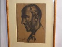 Leon Alexandru Biju - Portret - Egipt, 1933