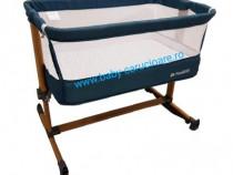 Pătuț co-sleeper  cu balansoar babies (baby care)turquoise