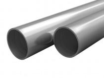 Tuburi din oțel inoxidabil 2 buc. Ø25x1,9mm 143183