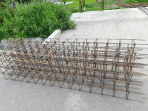Stalpi pentru casa gard din fier beton de 12 etrieri 15/20