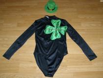 Costum de carnaval serbare trifoi pentru adulti numar 38