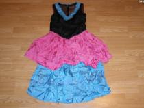 Costum de carnaval serbare rochie dans pentru adulti S-M