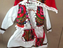 Costum popular traditional ie , fusta, vesta, traista, batic