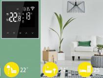 Termostat WIFI compatibil Alexa, Google, pentru IPAT si IPEL
