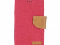 Husa Telefon Flip book Universala Canvas 4.7 inch 13.8x7.3cm