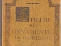 Stiluri si ornamente in mobilier-Marina Bucataru