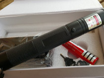Laser 5000mW Nou Pointer+Bat5800mah+Cap STELAR+2chei