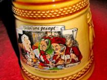 625-Halba cu meseni la discutii-Postbeuer 1991 ceramica.